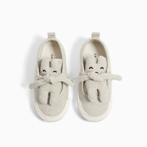 Zara toddler little bear sneakers